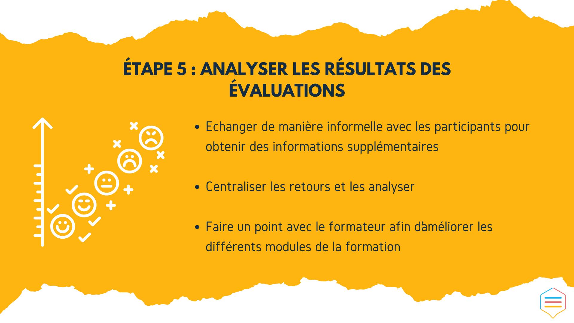 Analyser les résultats des évaluations