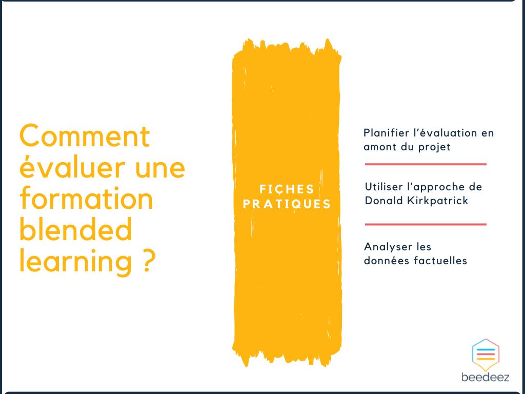 Comment évaluer une formation blended learning ?