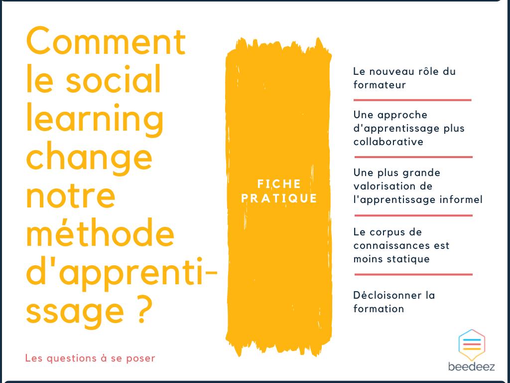 Comment le social learning change notre méthode dapprentissage