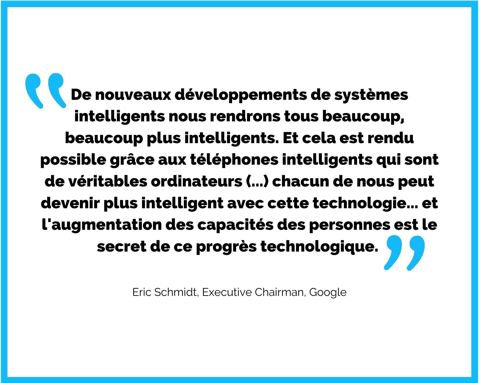 citation e-learning Eric Schmidt Google