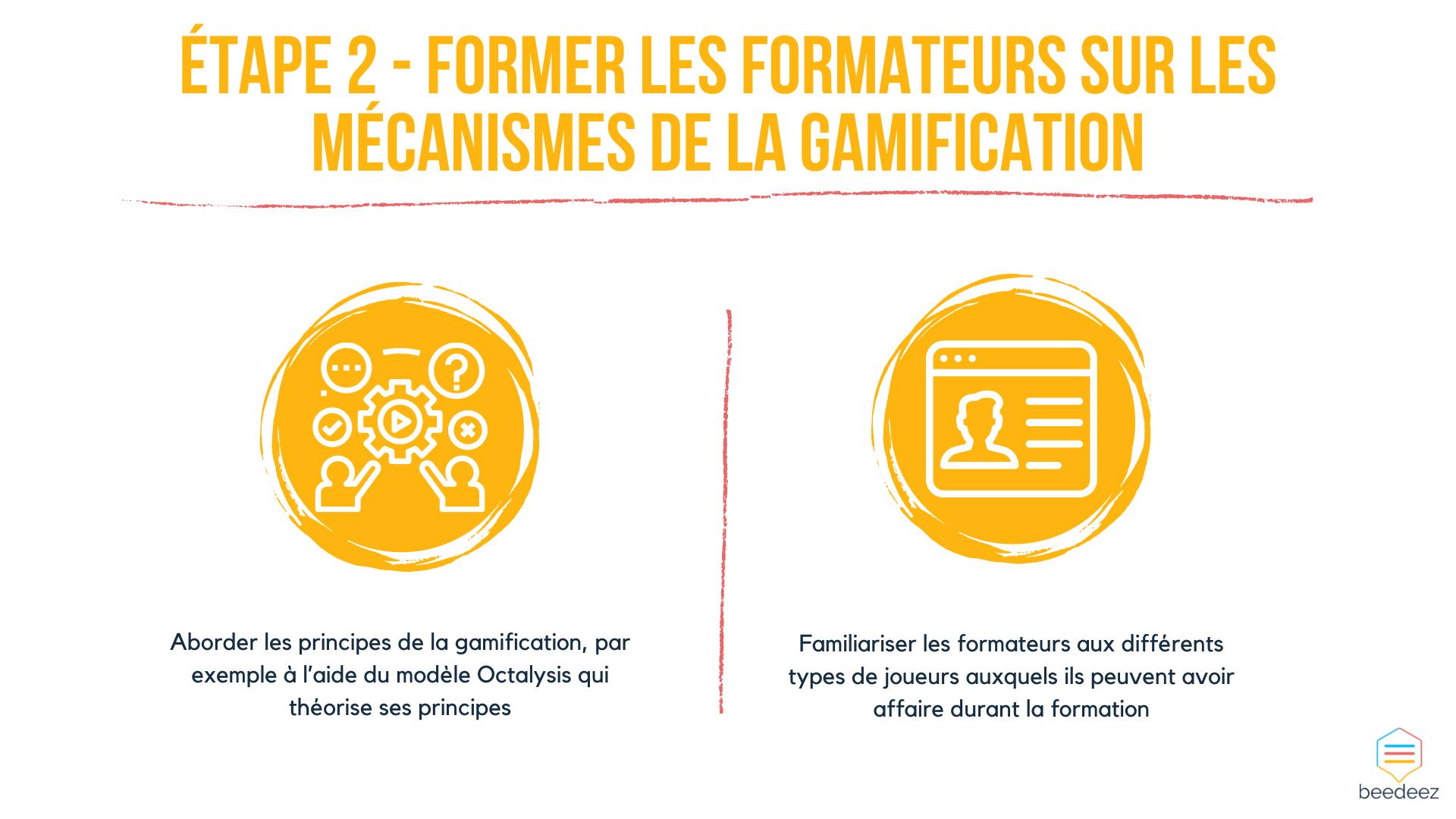 Former les formateurs sur les mécanismes de la gamification
