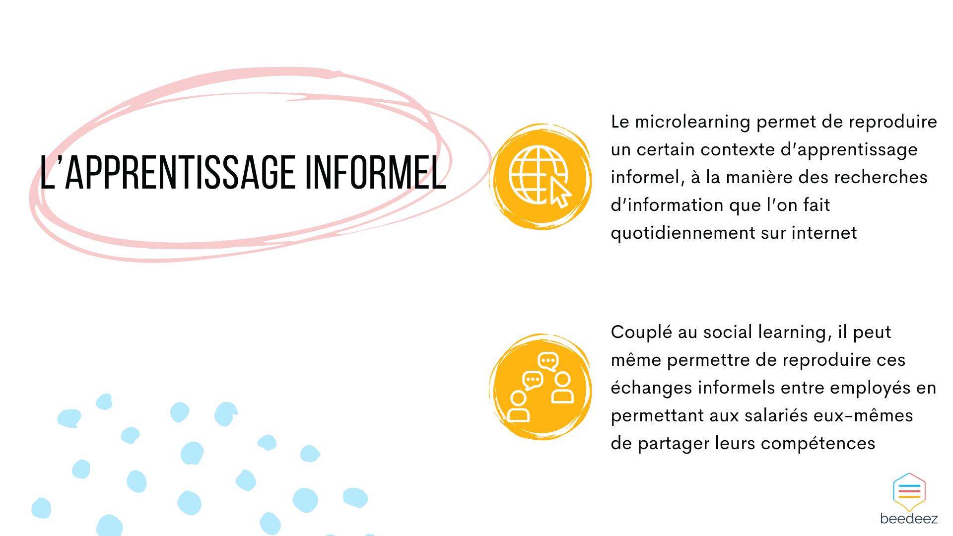 L'apprentissage informel