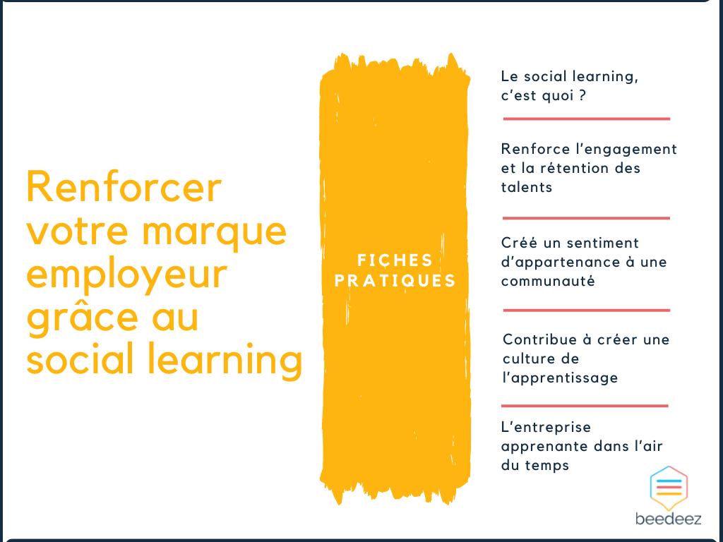 Renforcer votre marque employeur grâce au social learning