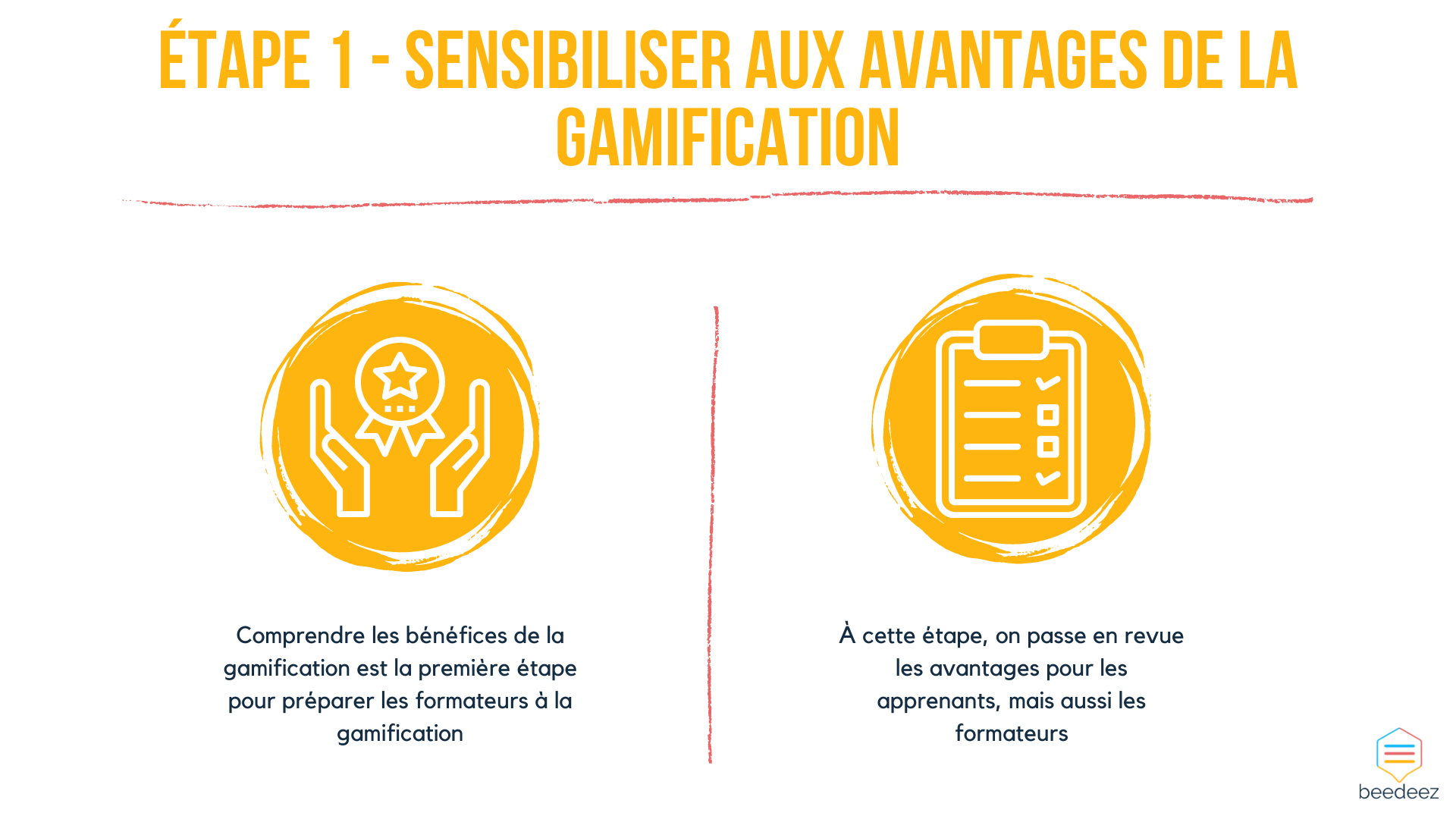 Sensibiliser aux avantages de la gamification