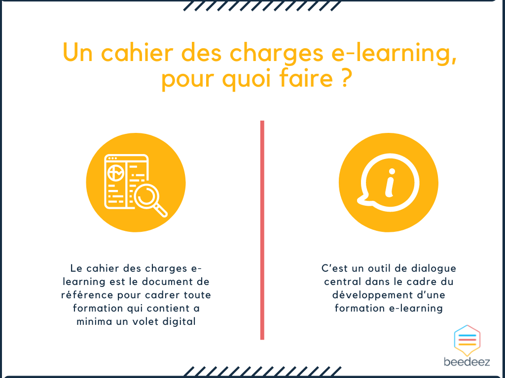 Un cahier des charges e-learning, pour quoi faire ?