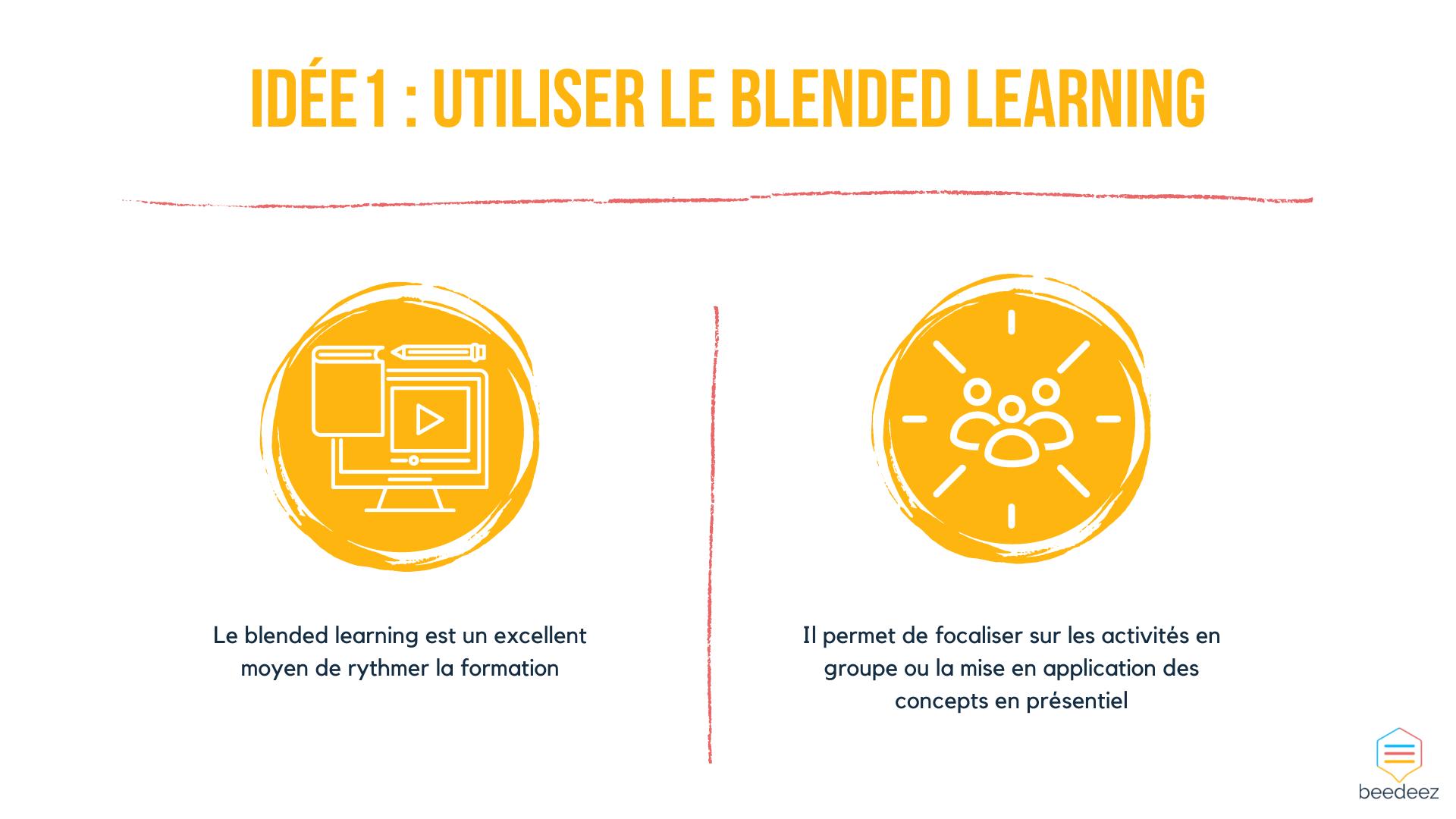 Utiliser le blended learning