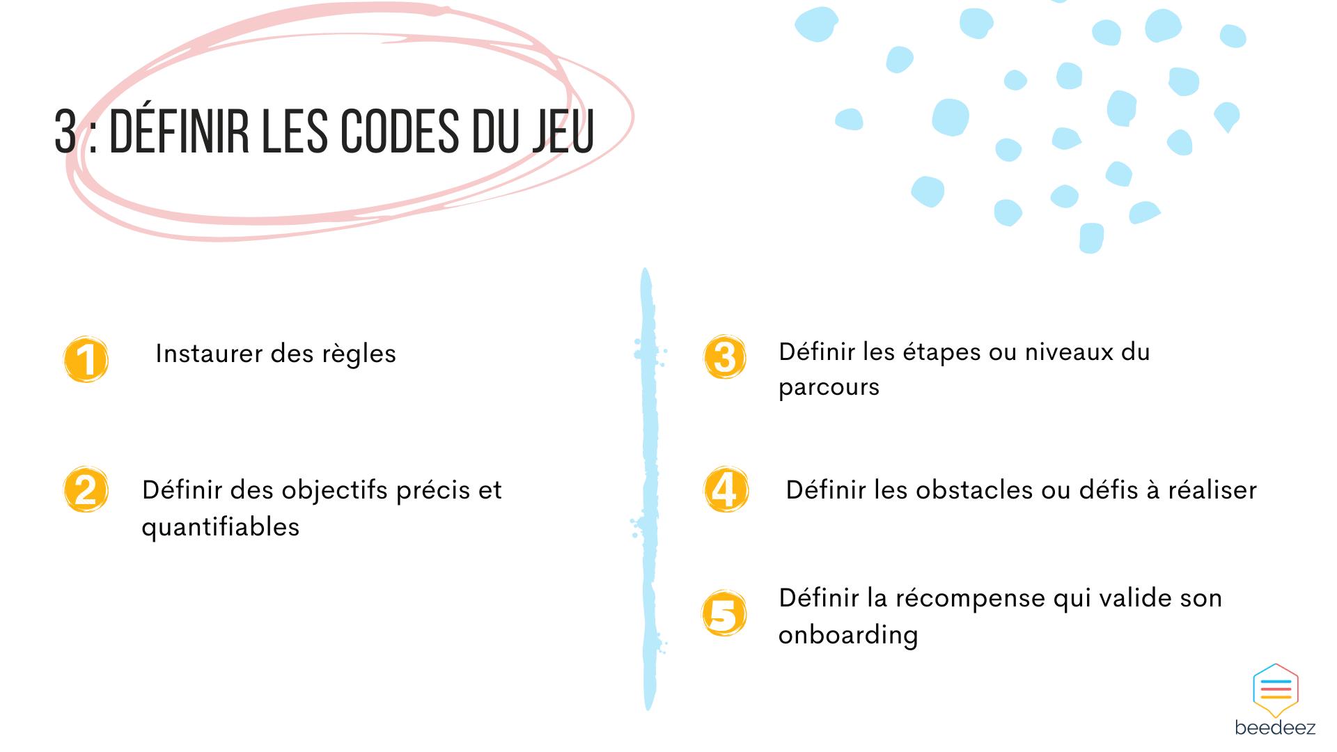 codes du jeu