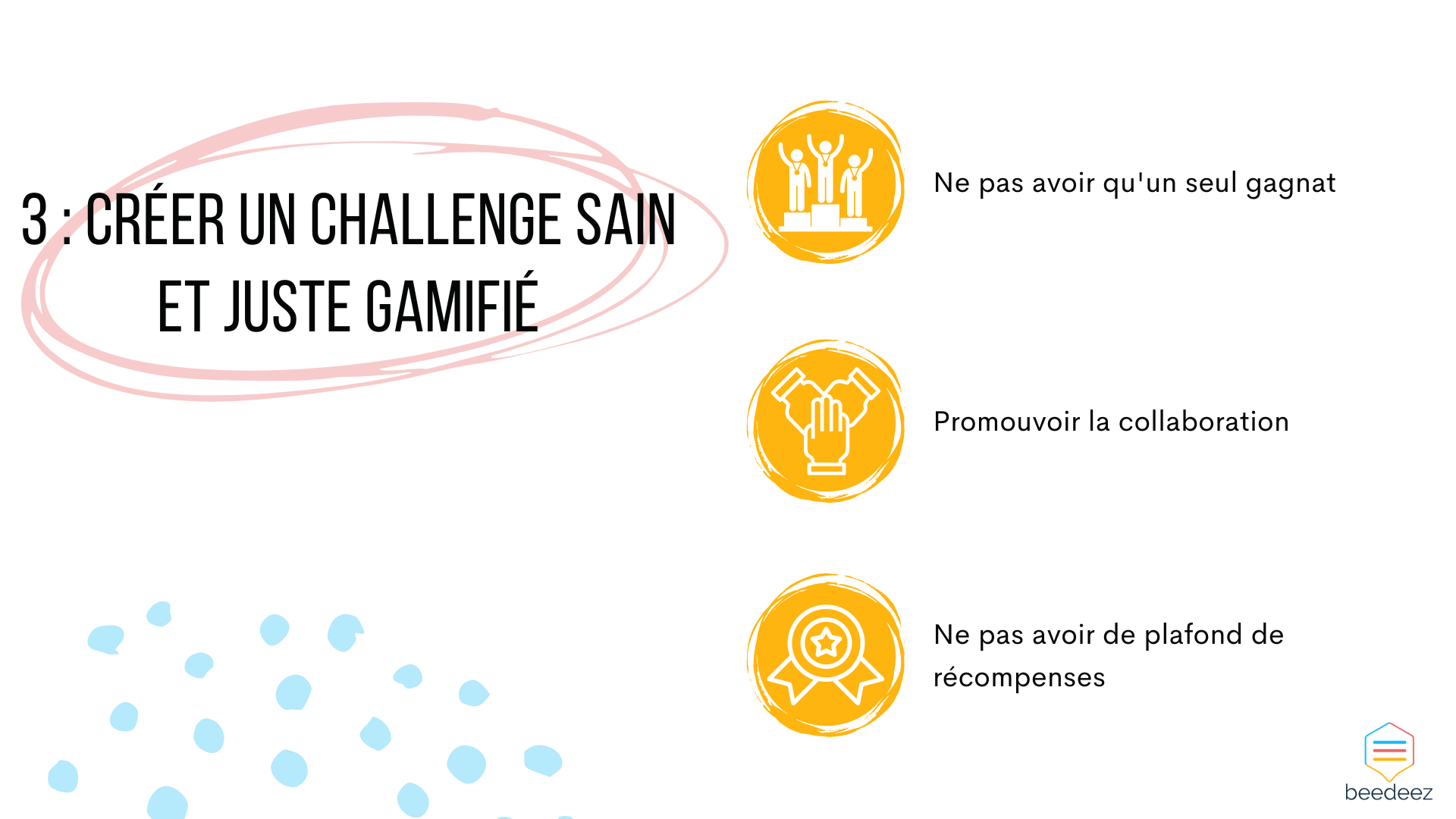 créer un challenge sain et juste gamifié