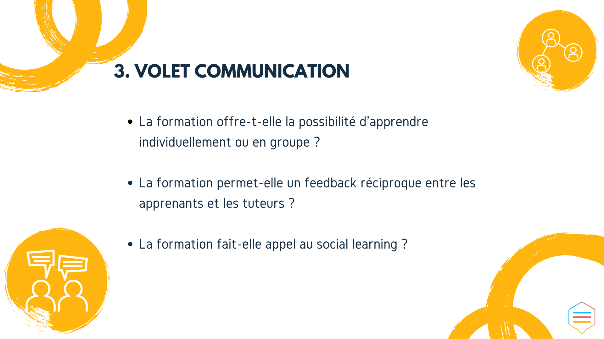 volet communication